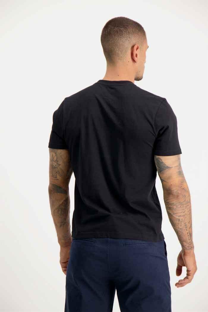 Element Aiken t-shirt uomo Colore Nero 2