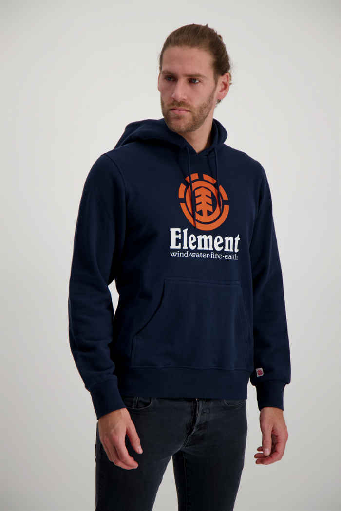 Element Vertical hoodie hommes Couleur Bleu navy 1