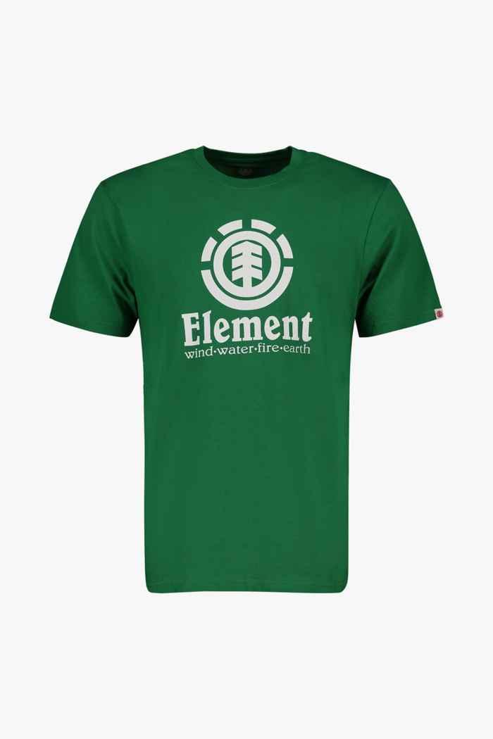 Element Vertical t-shirt hommes Couleur Vert 1
