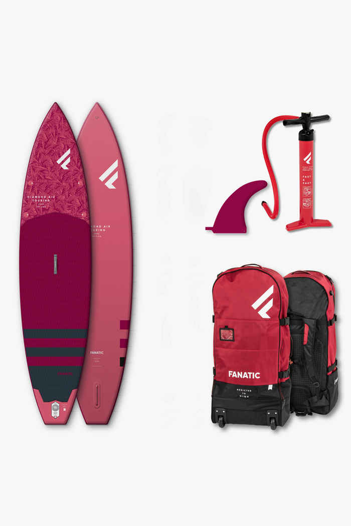 Fanatic Diamond Air Touring stand up paddle (SUP) 2021 1