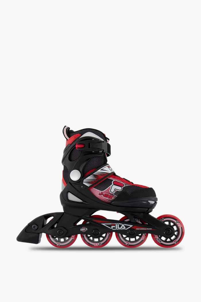 Fila Combo inlineskates + set di protezione bambino Colore Nero-rosso 2