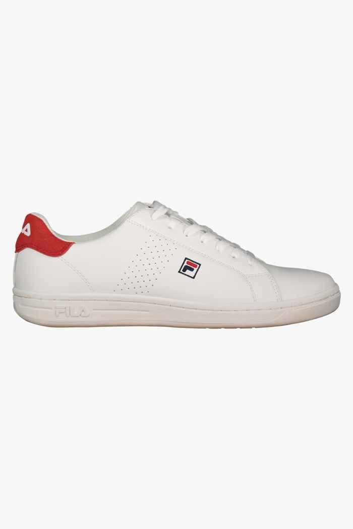 Fila Crosscourt 2F sneaker hommes Couleur Blanc/rouge 2