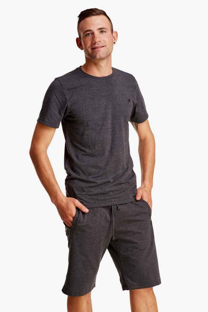 Fila Herren T-Shirt Farbe Anthrazit 1