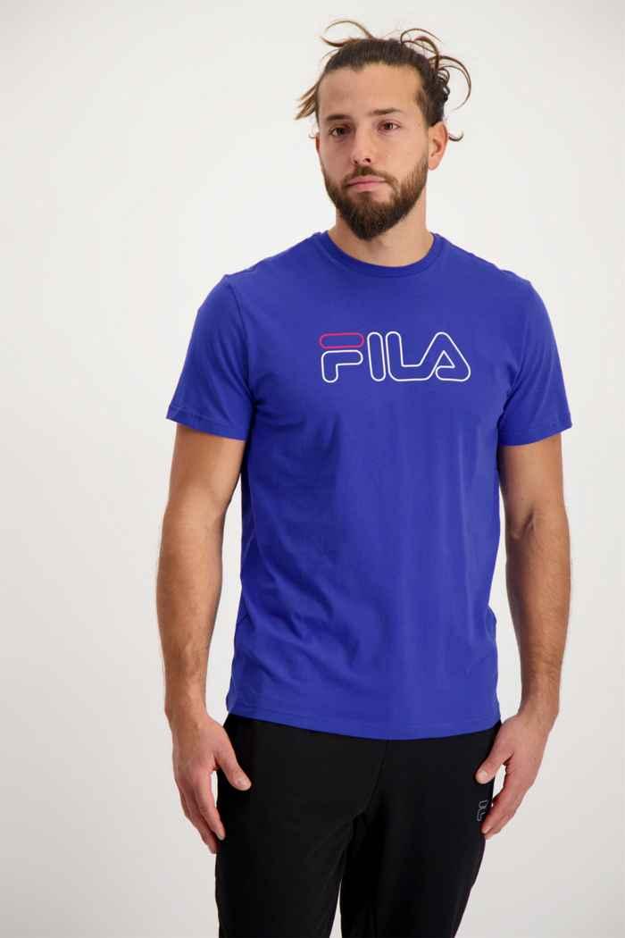 Fila Herren T-Shirt Farbe Blau 1