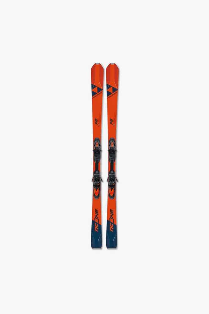 Fischer RC one 72 Ski Set 19/20 1