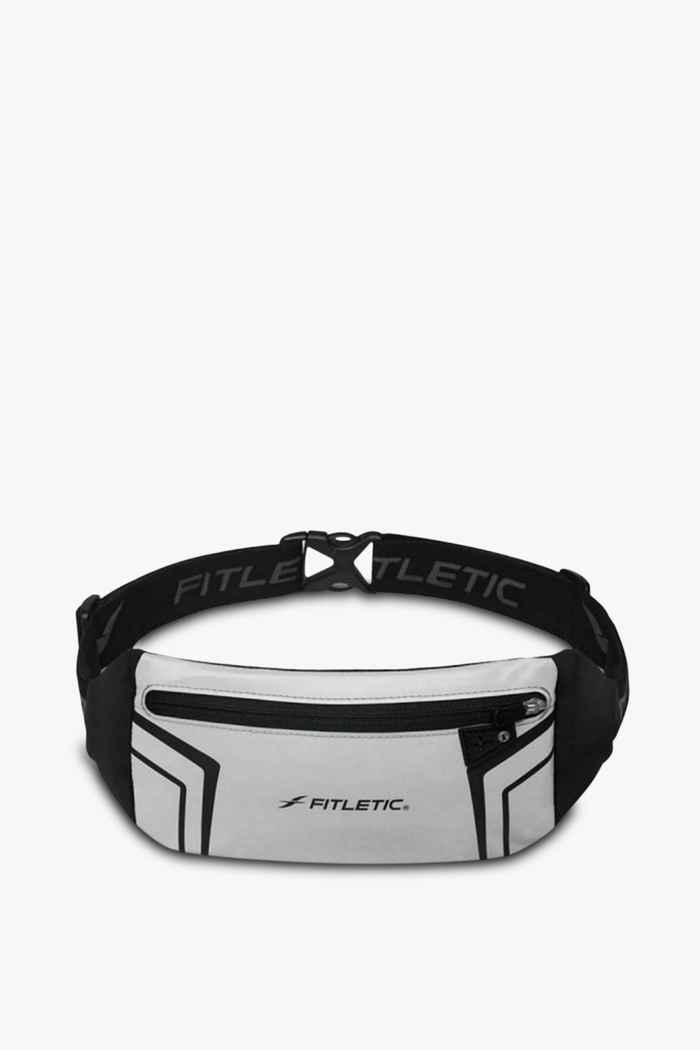 Fitletic Blitz Laufgürtel Farbe Silber 1