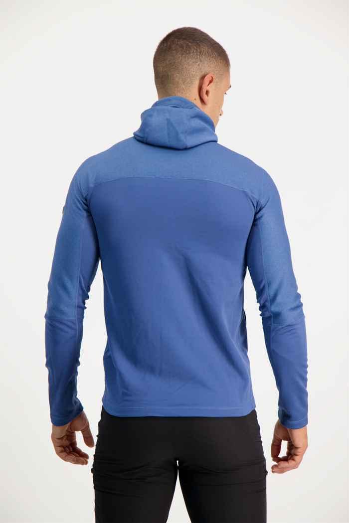 Fjällräven Abisko Trail Fleece midlayer hommes Couleur Bleu 2
