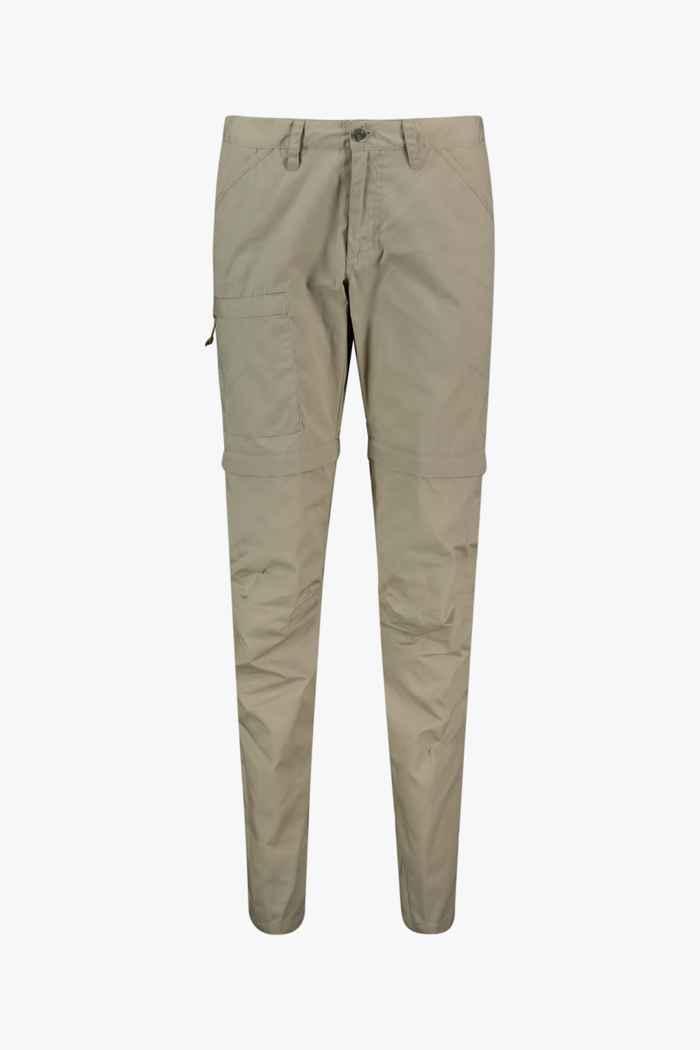 Fjällräven High Coast Zip-Off pantalon de randonnée femmes Couleur Beige 1