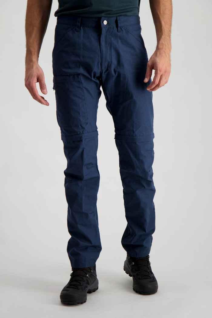 Fjällräven High Coast Zip-Off pantalon de randonnée hommes Couleur Bleu foncé 1