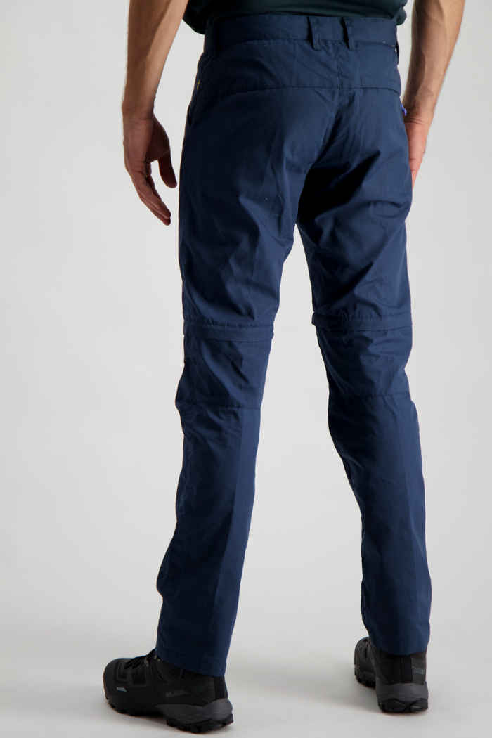 Fjällräven High Coast Zip-Off pantaloni da trekking uomo Colore Blu scuro 2