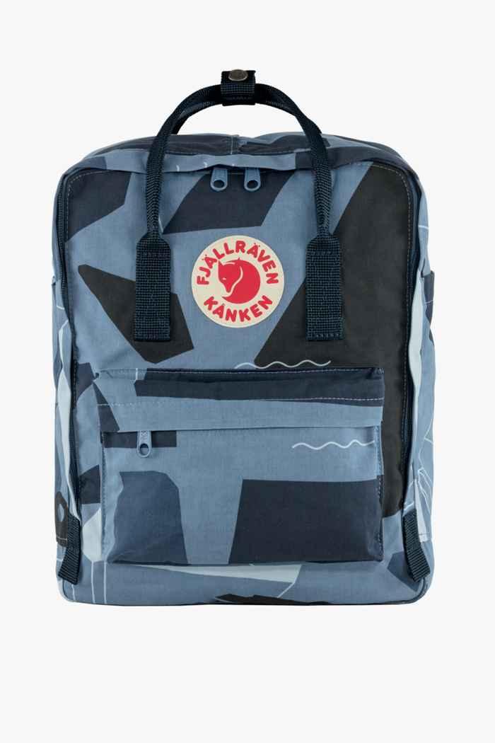 Fjällräven Kanken Art 16 L sac à dos Couleur Bleu 1