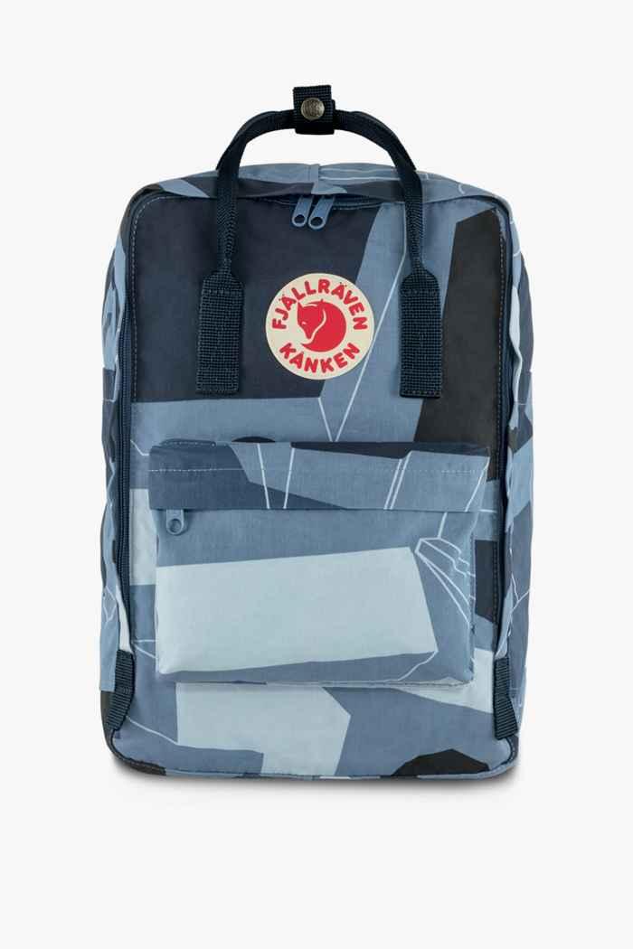 Fjällräven Kanken Art Laptop 15 18 L sac à dos Couleur Bleu 1