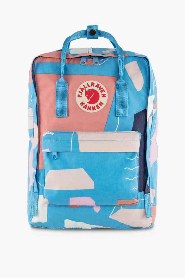 Fjällräven Kanken Art Laptop 15 18 L sac à dos Couleur Rose 1