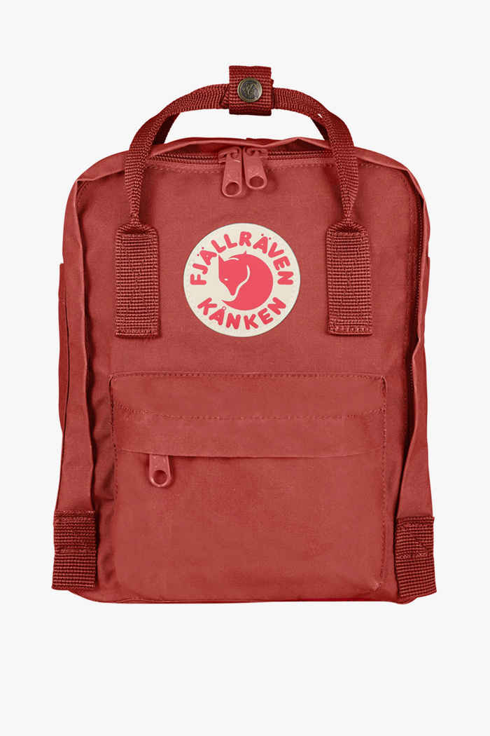 Fjällräven Kanken Mini 7 L sac à dos Couleur Rouge 1