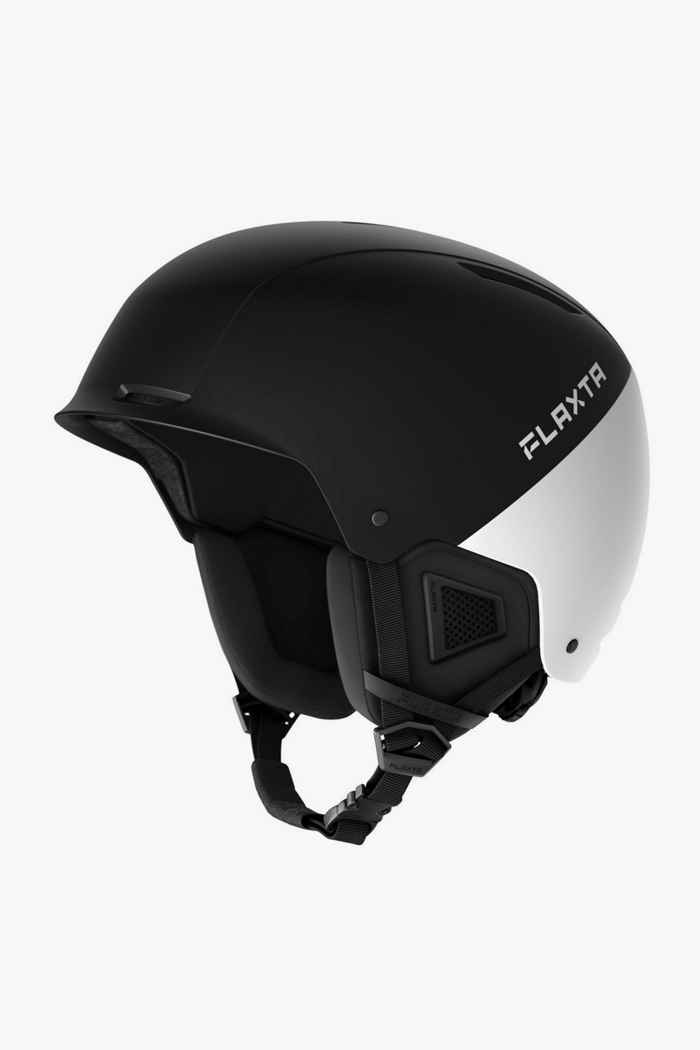 Flaxta Noble casco da sci Colore Nero-bianco 1