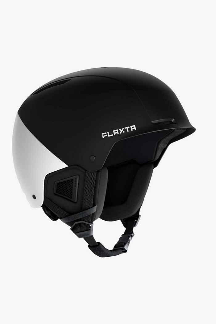 Flaxta Noble casco da sci Colore Nero-bianco 2