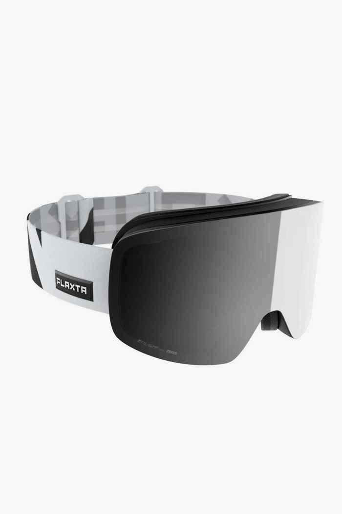 Flaxta Prime occhiali da sci Colore Bianco 1