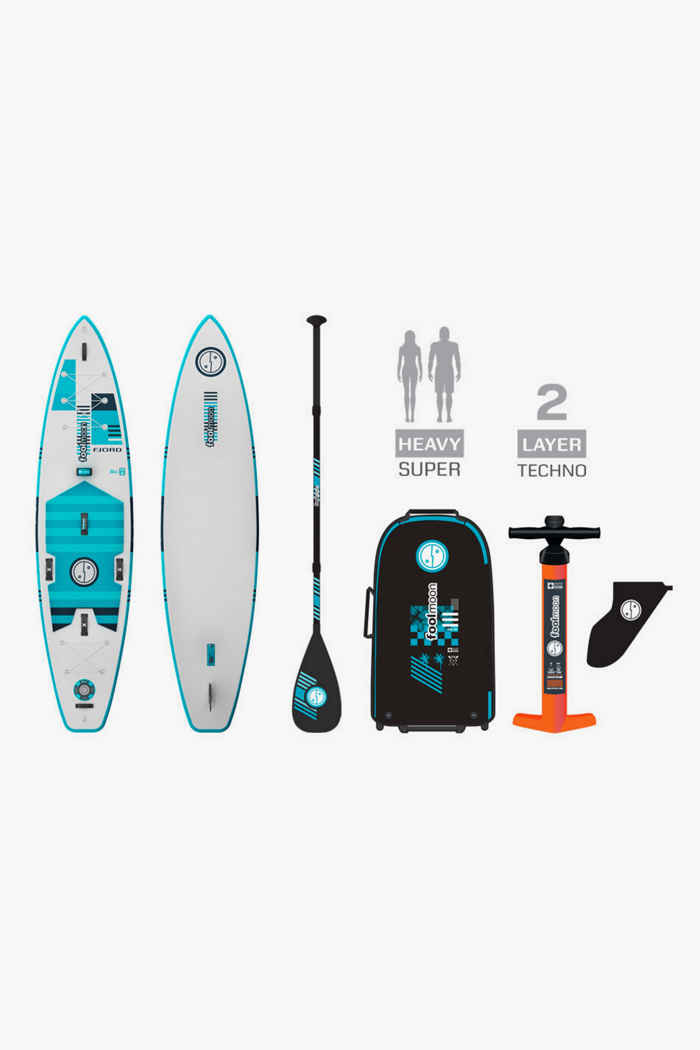 foolmoon Fjord 12.0 Stand Up Paddle (SUP) 2021 1