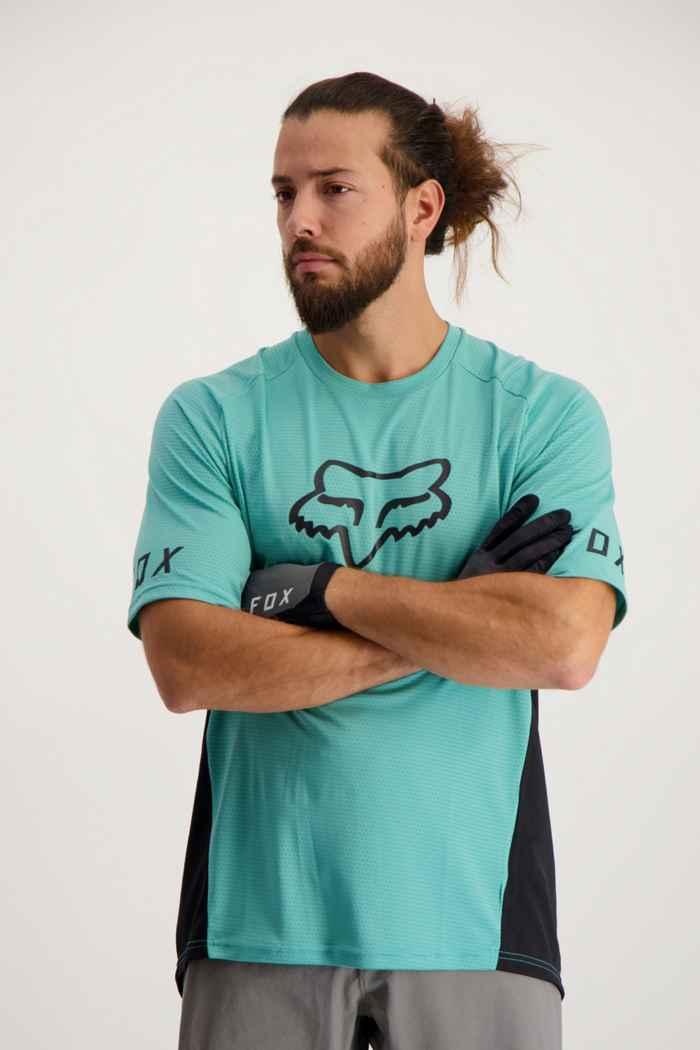 Fox Defend SS maillot de bike hommes Couleur Menthe 1