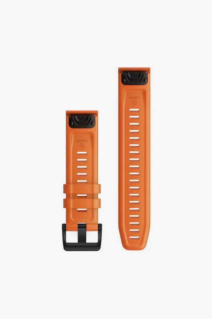 Garmin 22 mm QuickFit bracelet de montre Couleur Orange 2