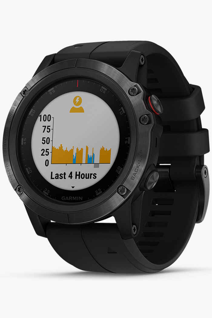 Garmin Fenix 5X Plus Saphir montre de sport 1