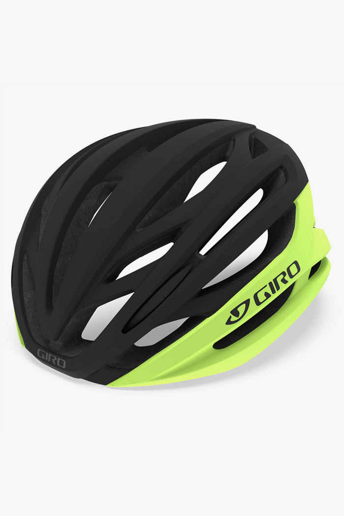 Giro Syntax Mips casque de vélo Couleur Schwarz-neongelb 1