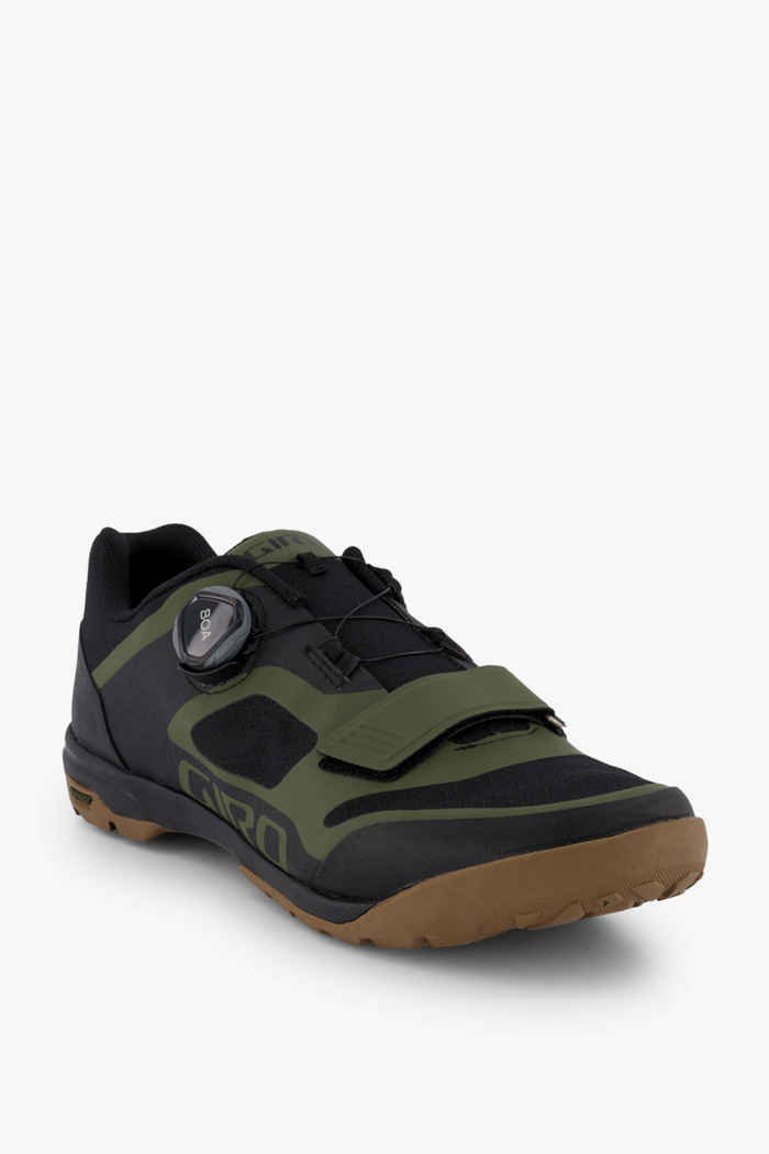 Giro Ventana scarpe da ciclista uomo Colore Verde oliva 1