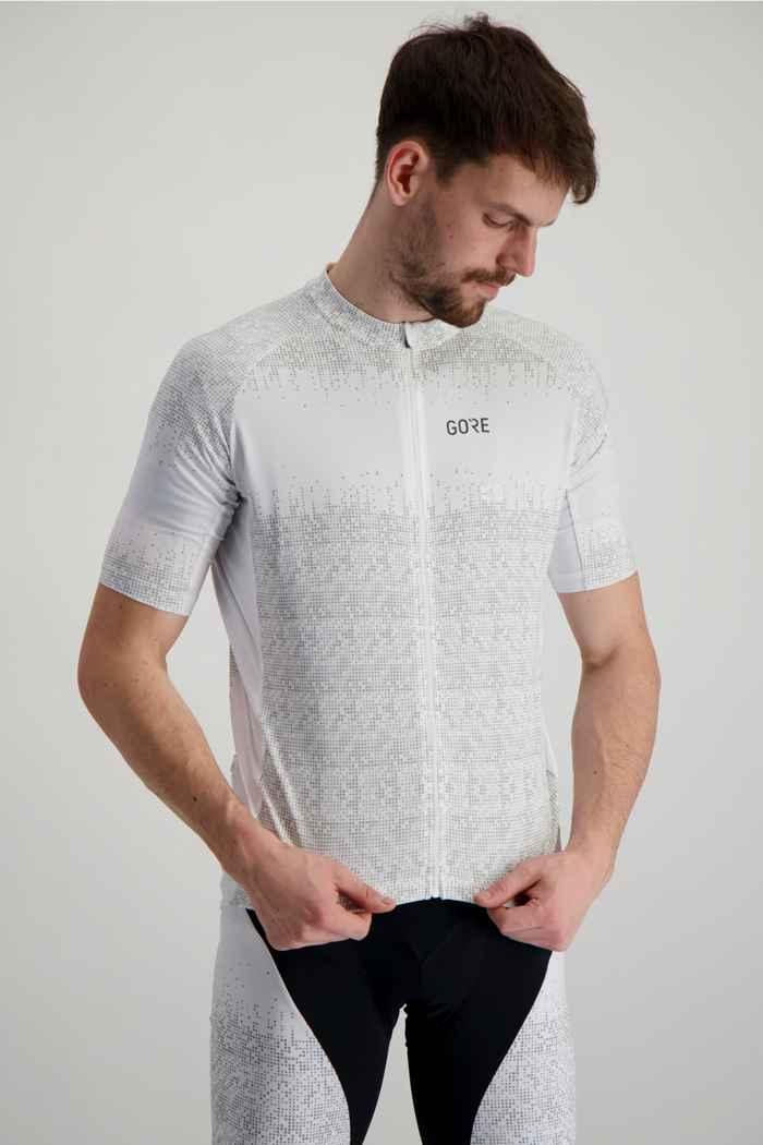 GORE® Wear Magix Herren Biketrikot Farbe Weiß 1