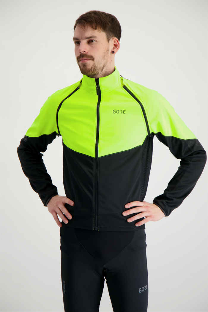 GORE® Wear Phantom Herren Bikejacke Farbe Gelb 1