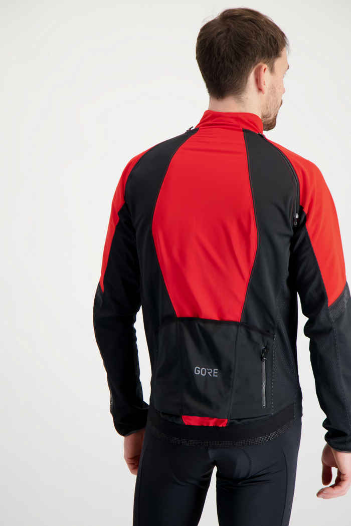 GORE® Wear Phantom Herren Bikejacke Farbe Rot 2