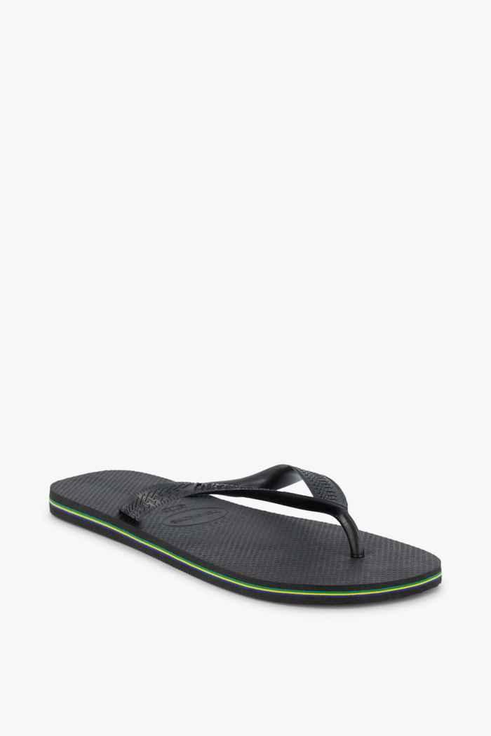 Havaianas Brasil Herren Flip Flop Farbe Schwarz 1