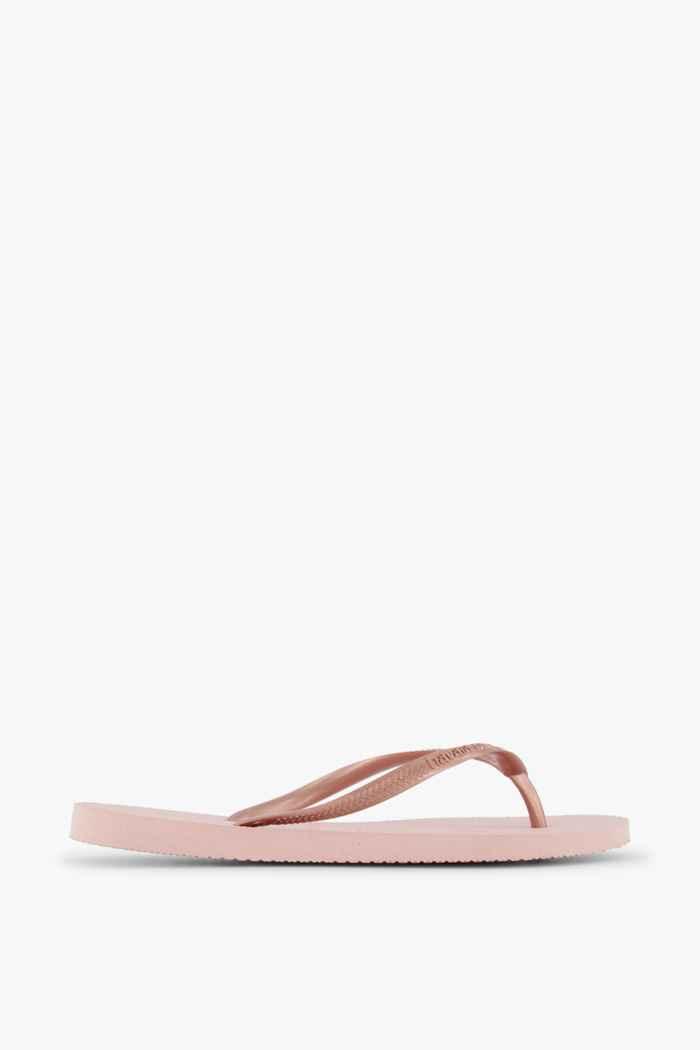 Havaianas Slim Damen Flip Flop Farbe Rosa 2
