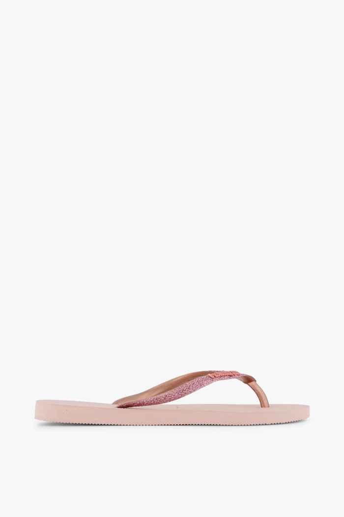 Havaianas Slim Glitter Damen Flip Flop Farbe Rosa 2
