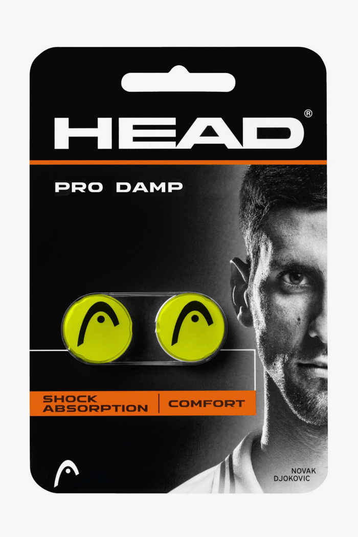 Head Pro Damp anti vibrazione Colore Nero 1