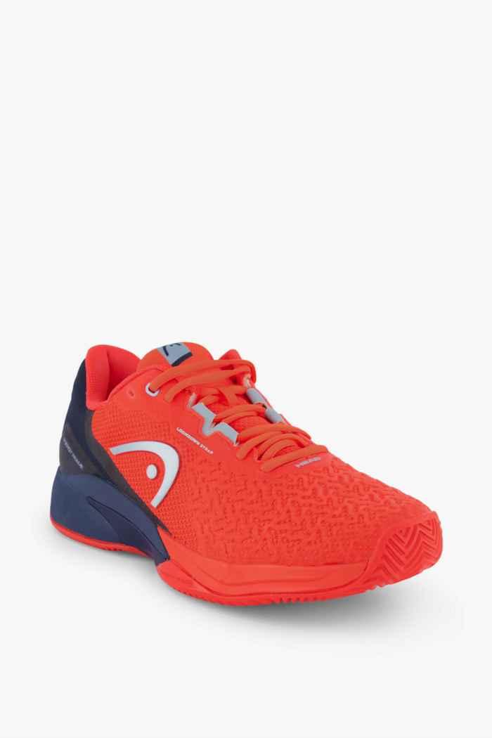 Head Revolt Pro 3.5 Clay chaussures de tennis hommes Couleur Rouge 1