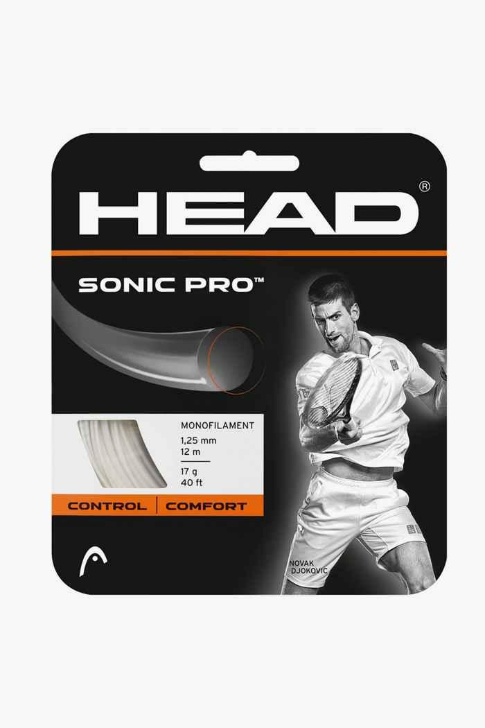 Head Sonic Pro corda da tennis Colore Bianco 1