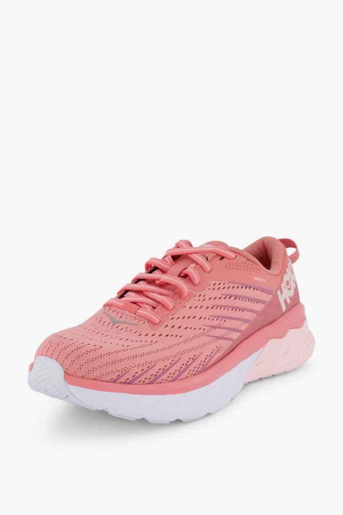 HOKA ONE ONE Arahi 4 chaussures de course femmes Couleur Saumon 1