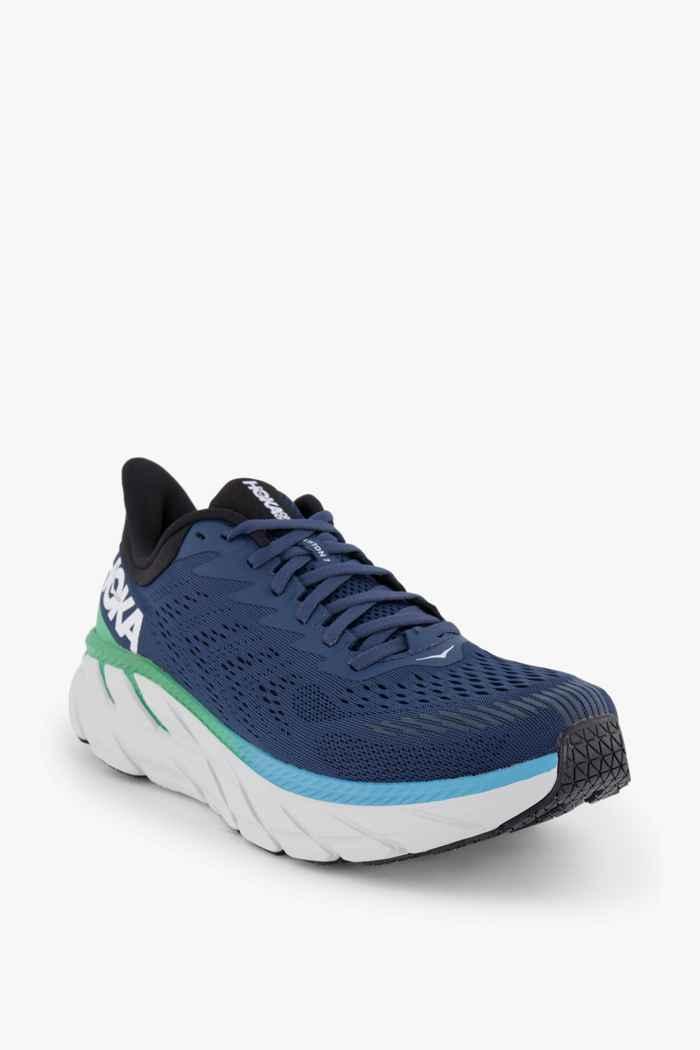 HOKA ONE ONE Clifton 7 chaussures de course hommes Couleur Bleu 1