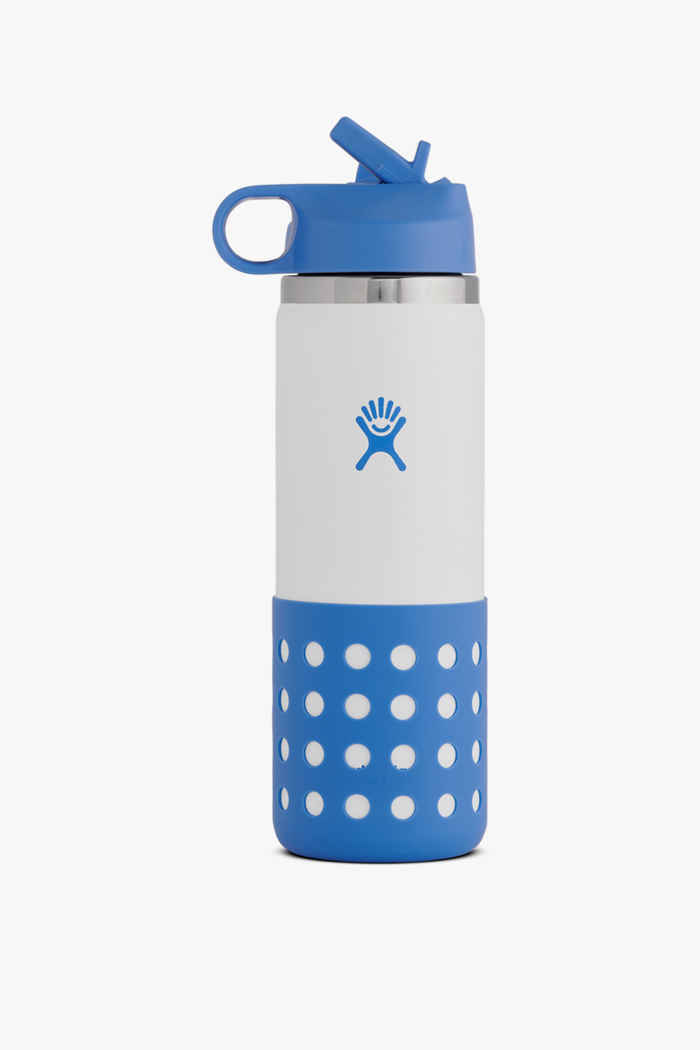 Hydro Flask 20 oz 591ml Wide Mouth Kinder Trinkflasche Farbe Violett 1
