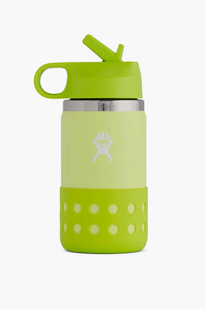 Hydro Flask Wide Mouth 355 ml Kinder Trinkflasche Farbe Grün 1