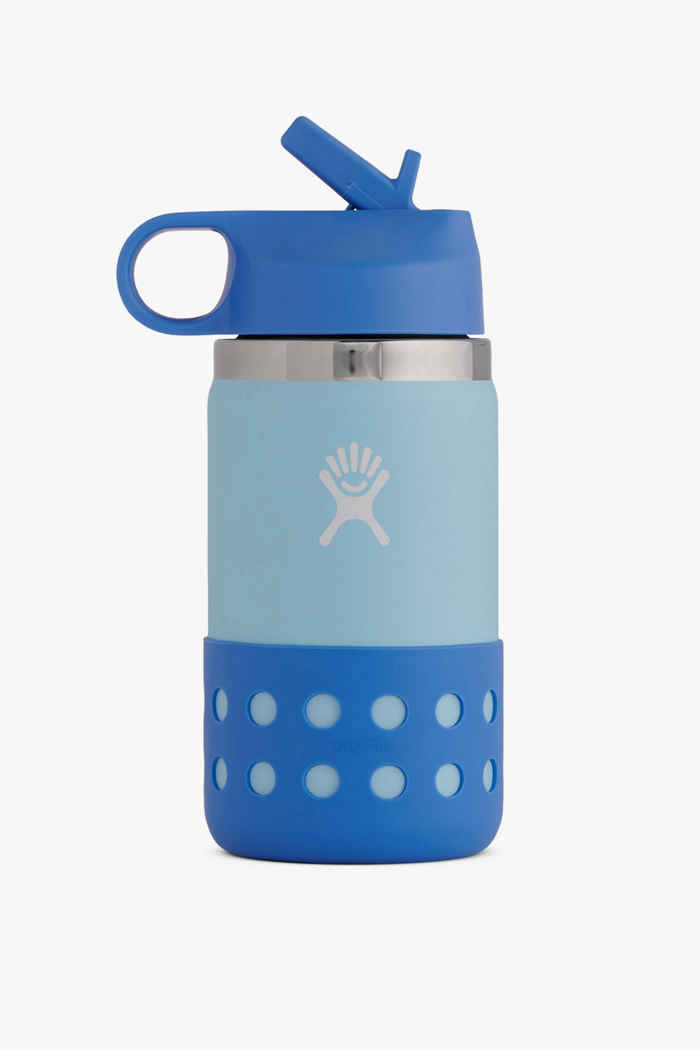 Hydro Flask Wide Mouth 355 ml Kinder Trinkflasche Farbe Hellblau 1