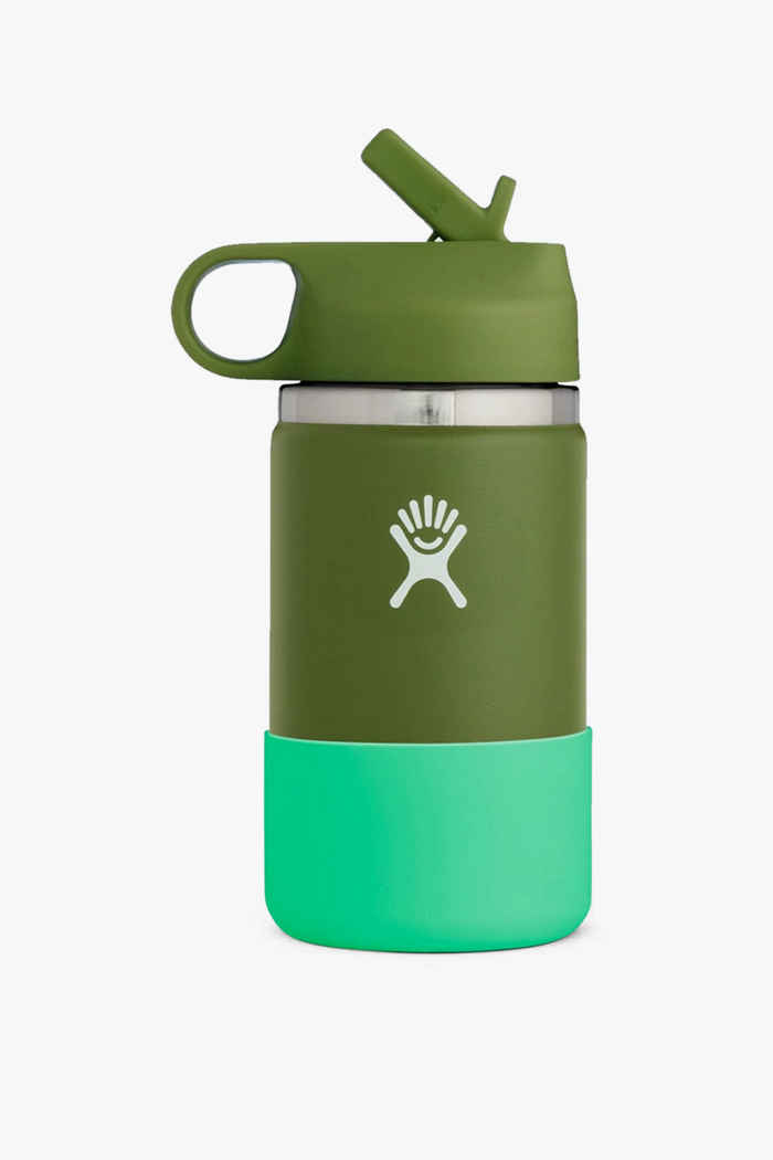 Hydro Flask Wide Mouth 355 ml Kinder Trinkflasche Farbe Olive 1