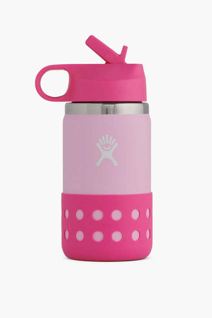 Hydro Flask Wide Mouth 355 ml Kinder Trinkflasche Farbe Pink 1