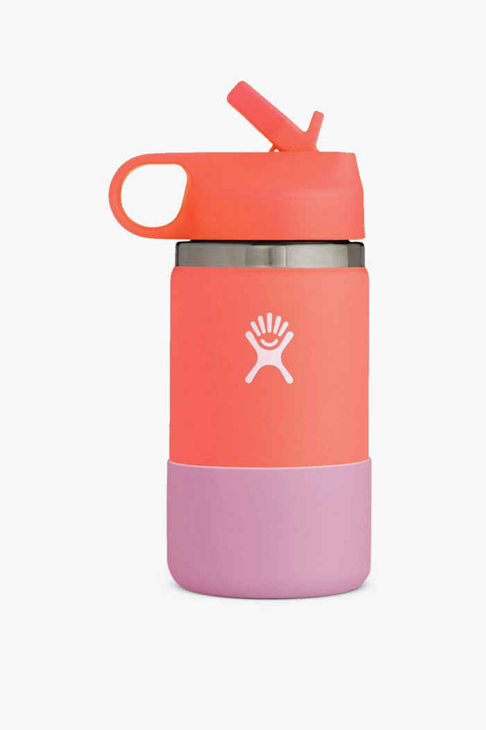 Hydro Flask Wide Mouth 355 ml Kinder Trinkflasche Farbe Pink-grün 1