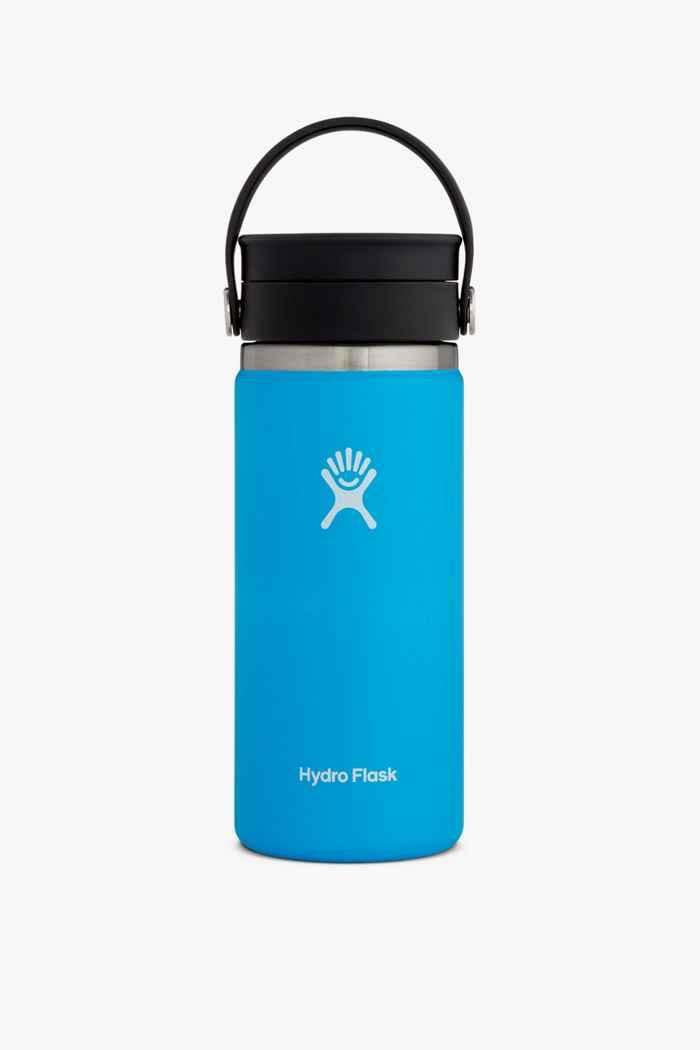 Hydro Flask Wide Mouth Coffee 473 ml Trinkflasche Farbe Blau 1