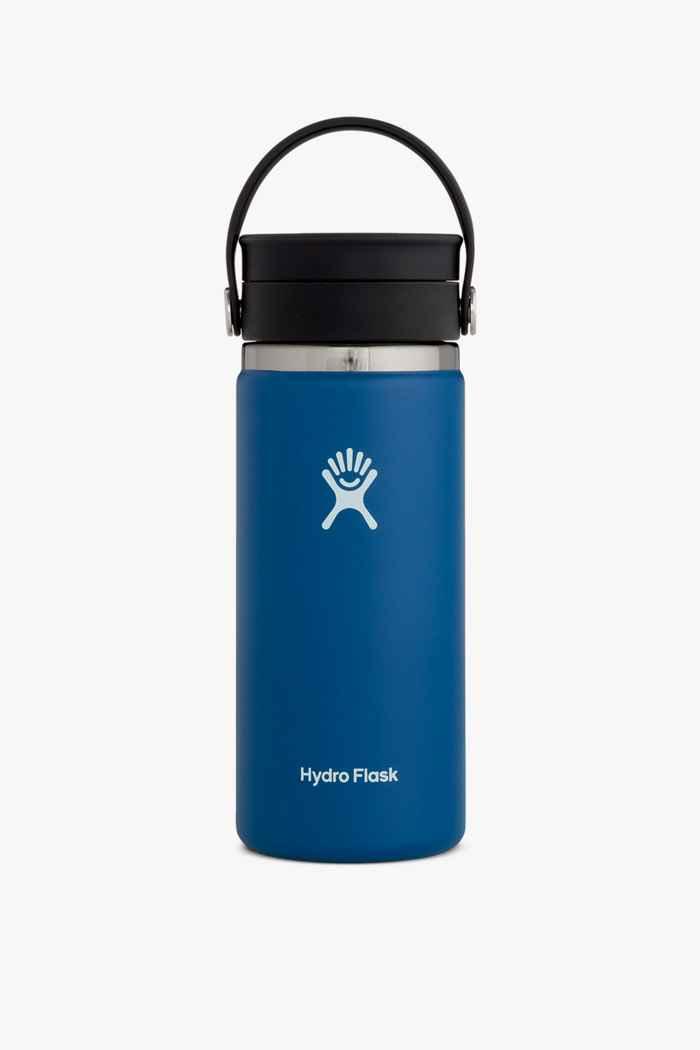 Hydro Flask Wide Mouth Coffee 473 ml Trinkflasche Farbe Dunkelblau 1
