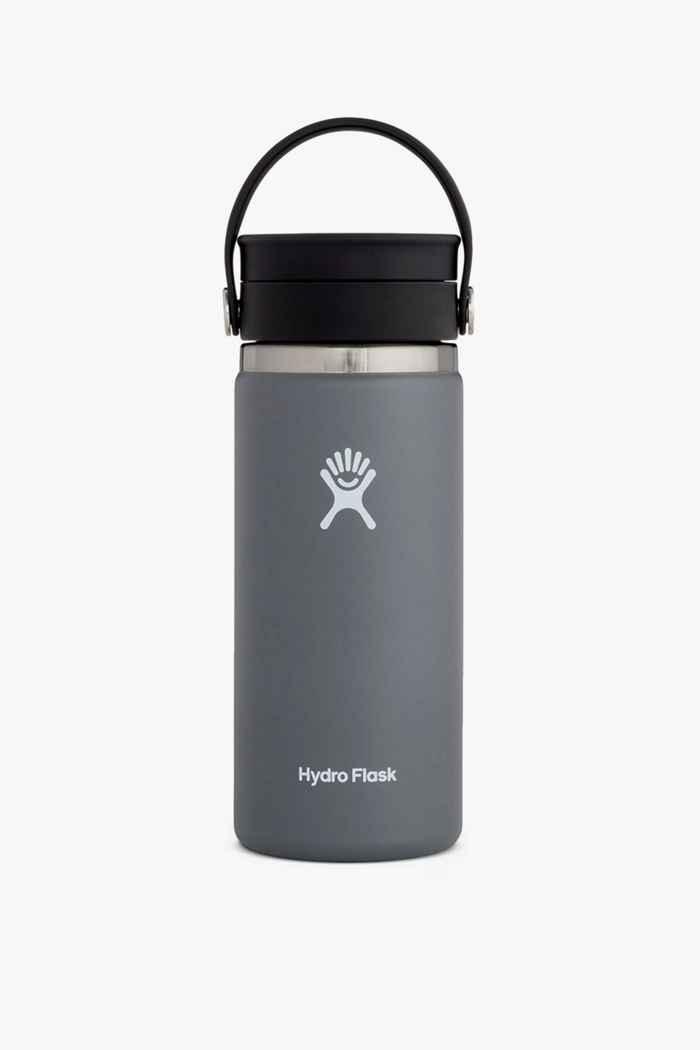 Hydro Flask Wide Mouth Coffee 473 ml Trinkflasche Farbe Grau 1