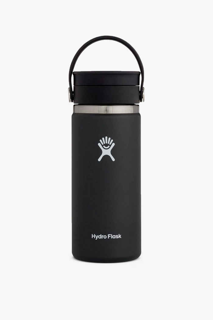 Hydro Flask Wide Mouth Coffee 473 ml Trinkflasche Farbe Schwarz 1