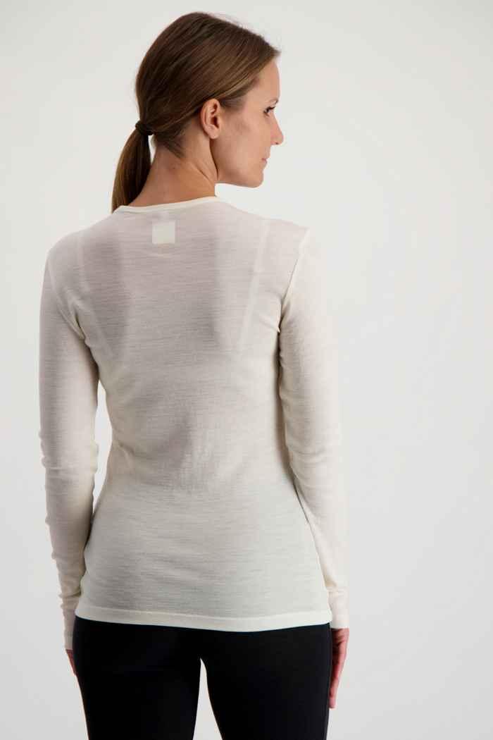 Icebreaker 175 Everyday maniche lunghe termica donna Colore Bianco sporco 2