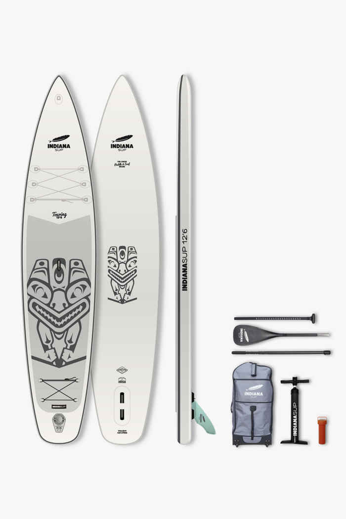 Indiana Touring Pack Premium 12.6 stand up paddle (SUP) 2021 1
